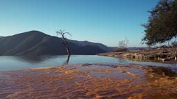 hierve el agua oaxaca mexico 4k Footage