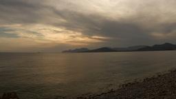 ibiza beach coast sunset 4k Footage