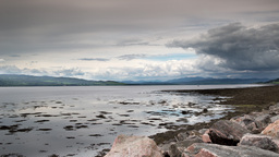 4k inverness estuary tidal timelapse scotland Footage