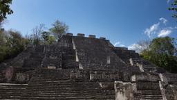 mexican mayan ruins kalakmul 4k Footage