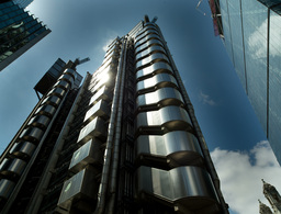 lloyds building london england architecture Footage