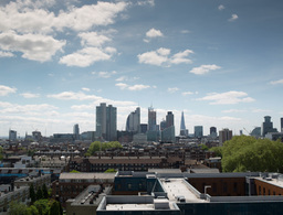 london skyline financial center england business Footage