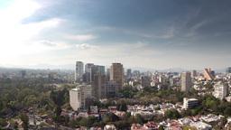 mexico city skyline timelapse 4k Footage