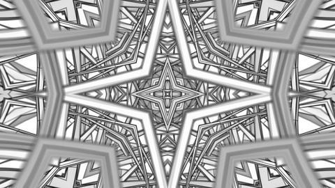 Wireframe Kaleidoscope 01 Animation