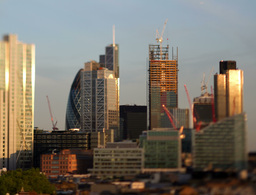 golden financial district london england business Footage