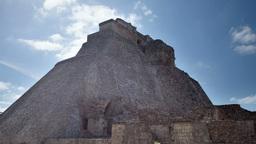 mayan ruins uxmal mexico 4k Footage