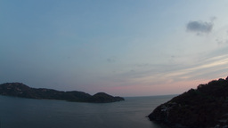 sunset zihuatanejo mexico 4k Footage