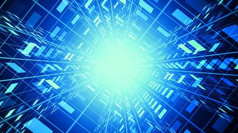 Corporate Tech Tunnel Animation
