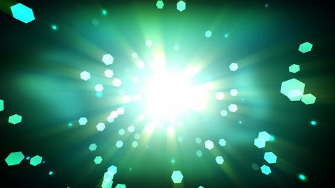 Green Heaven Particles Animación
