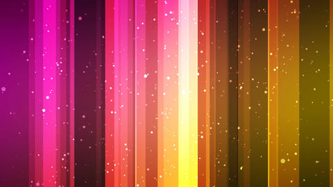 Colorful Slide Particles Animation