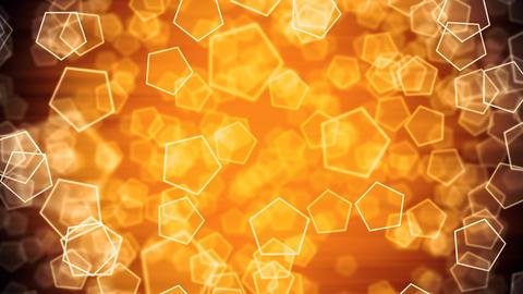 Golden Depth Shapes Animation