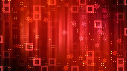 Red Party Glitters Animation