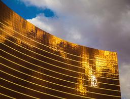 Wynn Hotel Las Vegas 4k 001 stock footage