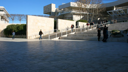 Getty Museum 001 stock footage
