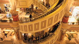 2011 Vegas Shopping Center 1 PJPEG stock footage