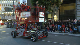 2012 San Fran Parade 8 stock footage