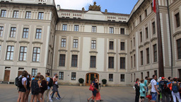 The Prague Castle in Prague Footage