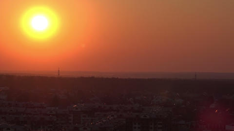 Sunsetting time lapse Footage