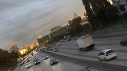 2013 Freeway Traffic 10 TL 12 Footage