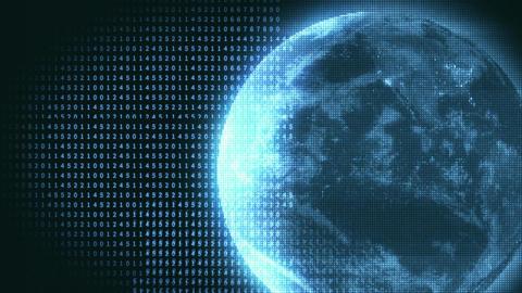 monitor malfunction video motion graphic backgroun Animation