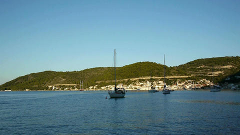 City Of Vis Port stock footage
