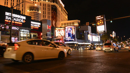 2013 Vegas Strip RT 1 stock footage