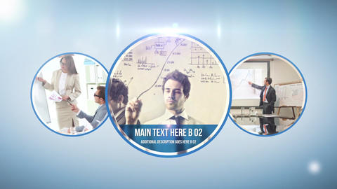 Circle Corporate After Effects Template