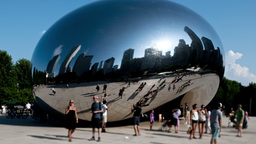 Chi Sphere 1 2011 stock footage