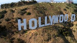 LA HOLLYWOODSIGN 3 2012 Footage