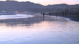 Santa Monica Beach 11 Footage
