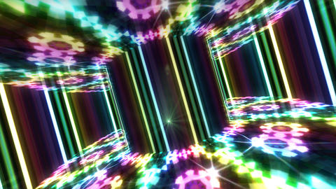Dance Floor B2 F1 HD Stock Video Footage