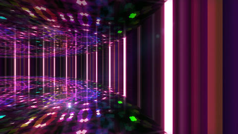 Dance Floor C1 I1 HD Stock Video Footage