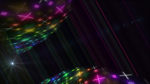 Dance Floor D3 D1 HD Stock Video Footage