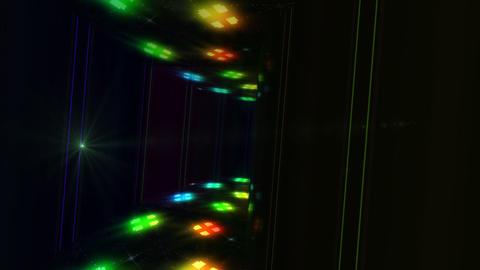 Dance Floor E2 D1 HD Stock Video Footage