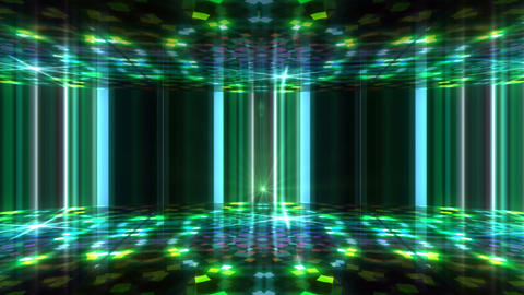 Dance Floor F1 I1 HD Stock Video Footage
