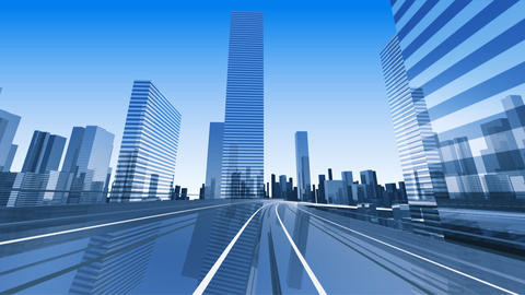 City Highway 2cc HD Stock Video Footage
