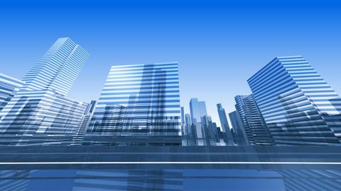 City Highway 2cs HD Stock Video Footage