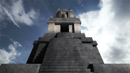 Maya Pyramid Clouds Timelapse 05 Animation