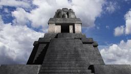 Maya Pyramid Clouds Timelapse 09 Stock Video Footage