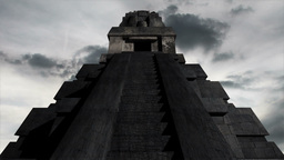 Maya Pyramid Clouds Timelapse 11 Animation