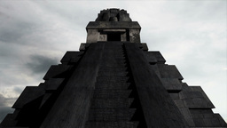 Maya Pyramid Clouds Timelapse 11 Stock Video Footage