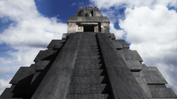 Maya Pyramid Clouds Timelapse 13 Animation