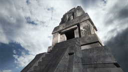 Maya Pyramid Clouds Timelapse 15 Stock Video Footage