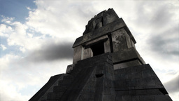 Maya Pyramid Clouds Timelapse 17 Stock Video Footage