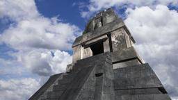 Maya Pyramid Clouds Timelapse 19 Stock Video Footage