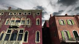 Venice Buildings Clouds Timelapse 02 Animation