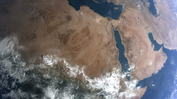 earth middle east Stock Video Footage
