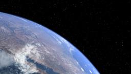 earth moon 02 Stock Video Footage