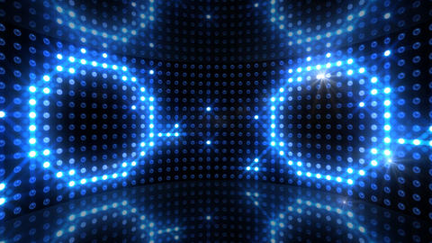 LED Back 2 CBrD1 HD Stock Video Footage