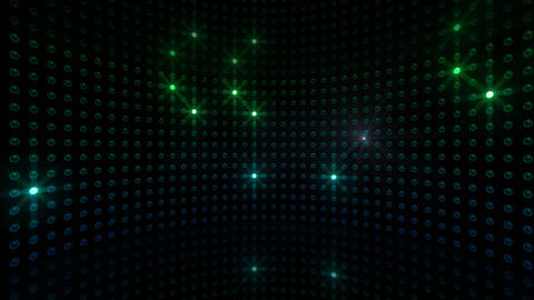LED Back 2 CBrD3 HD Stock Video Footage